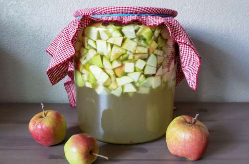 Homemade Apple Cider Vinegar Instructions