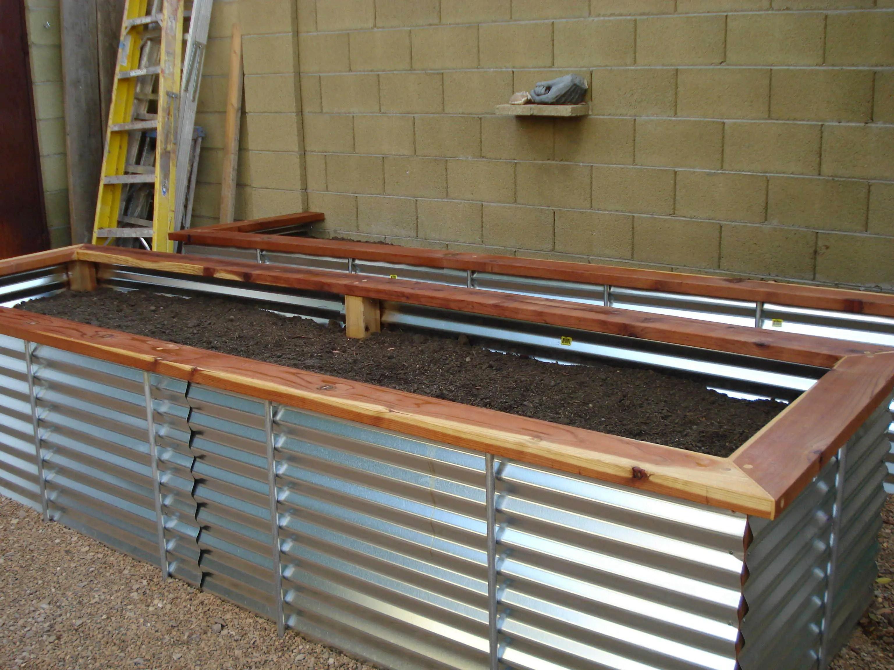 Metal Planter Beds