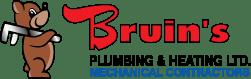 bruins plumbing mechanical red deer renovation company partners logo