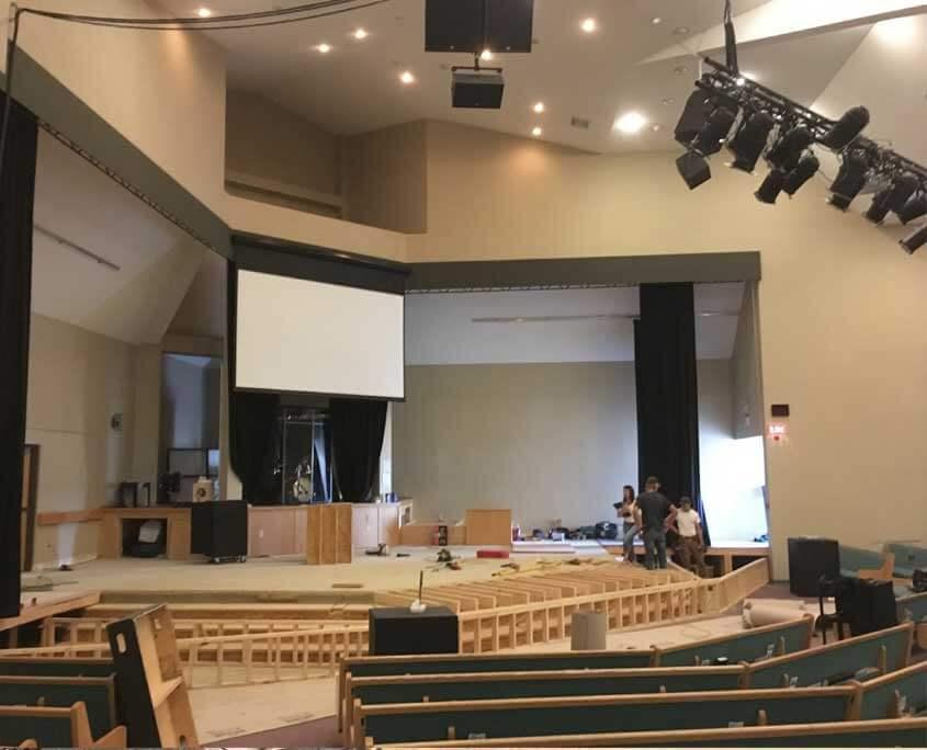 livingstones church commercial renovations