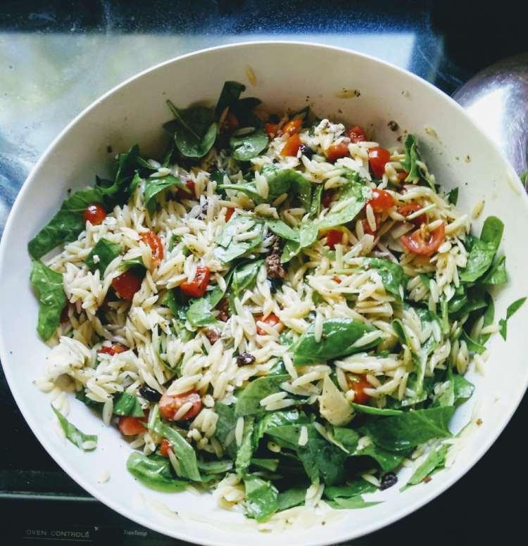 vegan gluten free pasta salad