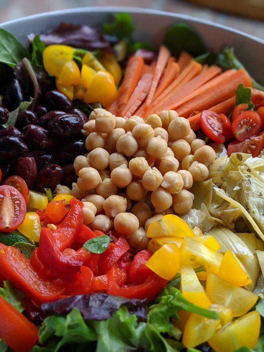 antioxidant detox salad