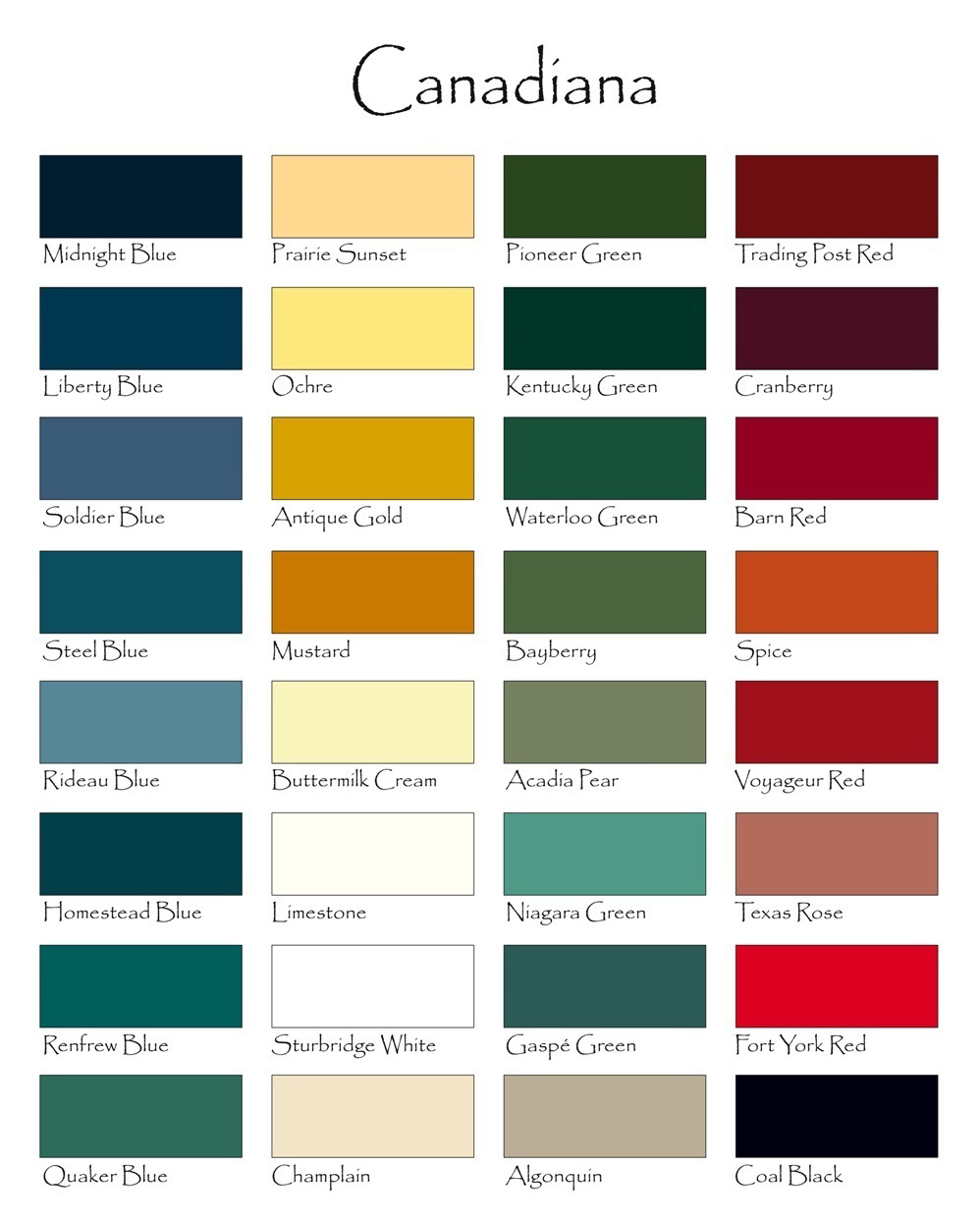 Of color paint color chart house of color paint color chart nvjuhfo Gallery