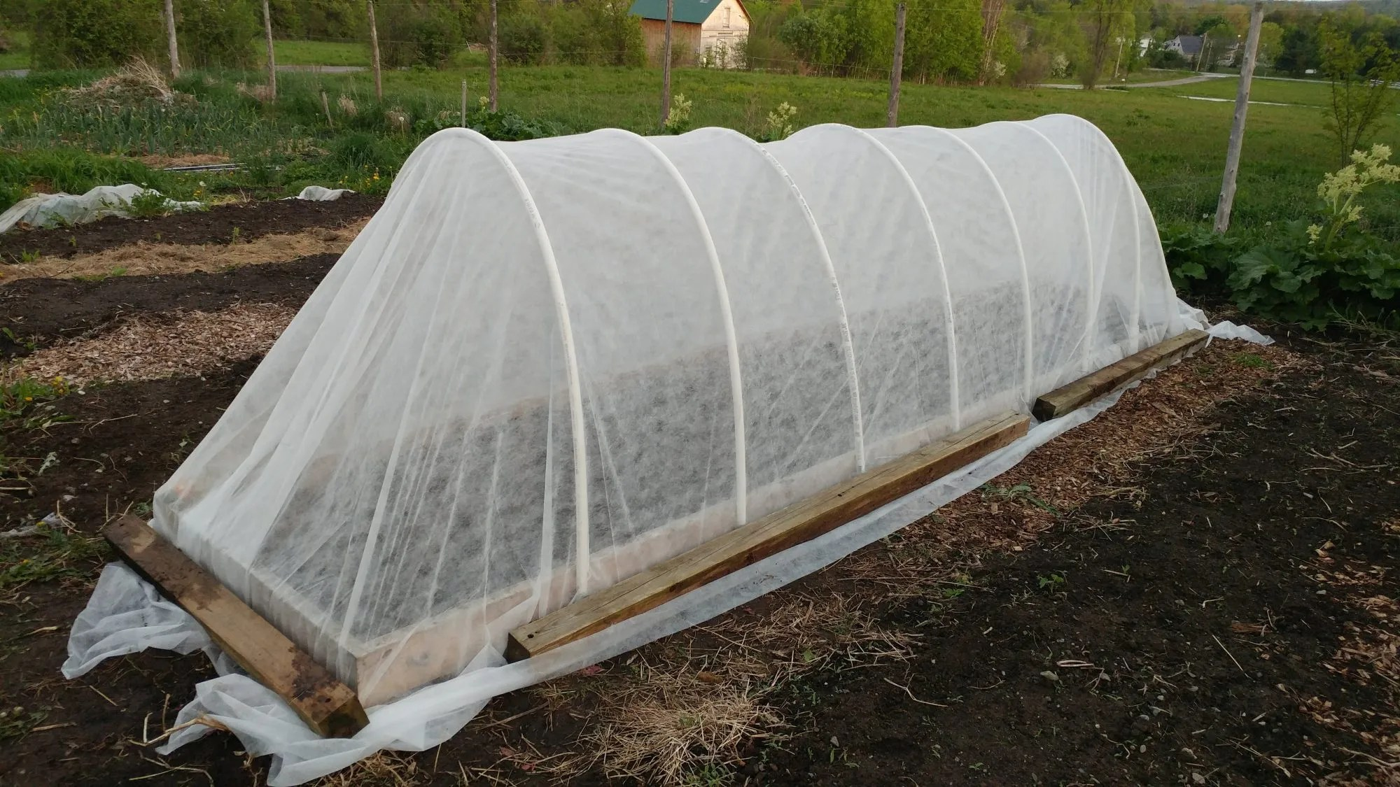 How to Build a Covered Raised Bed
