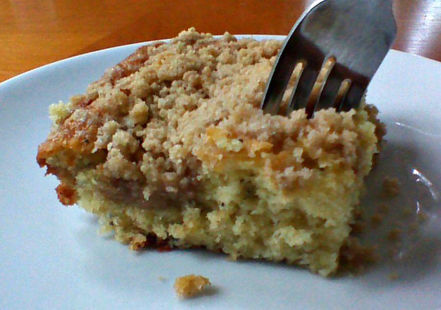 Cardamom poppy seed cake