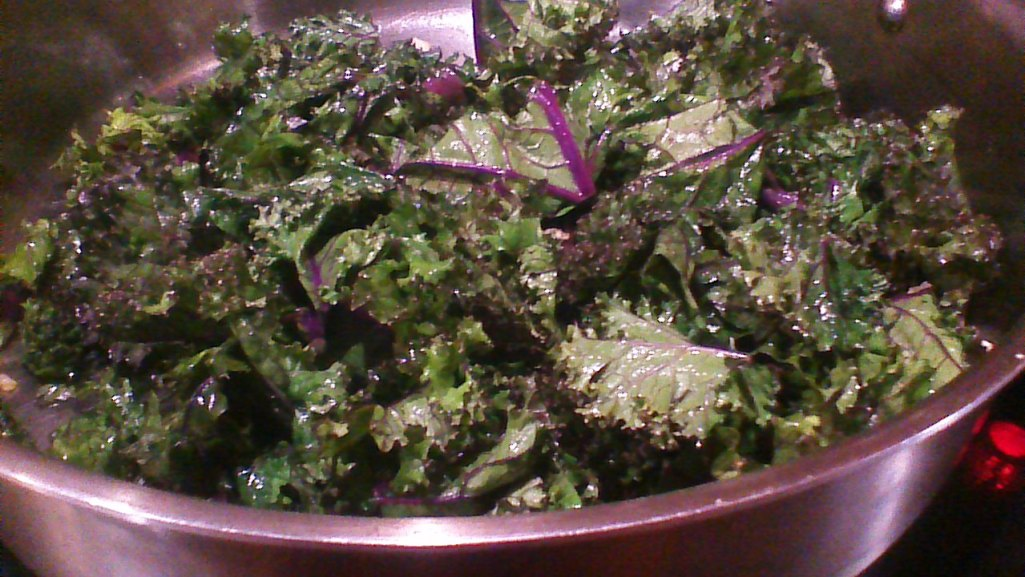 Sauteed Red Kale 2