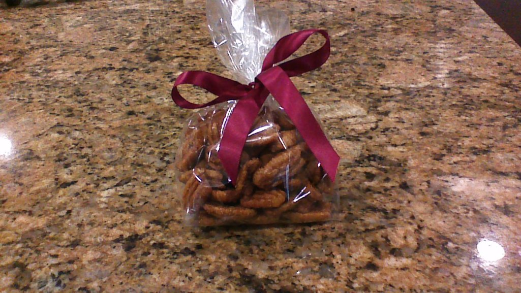 Ginger Spiced Pecans