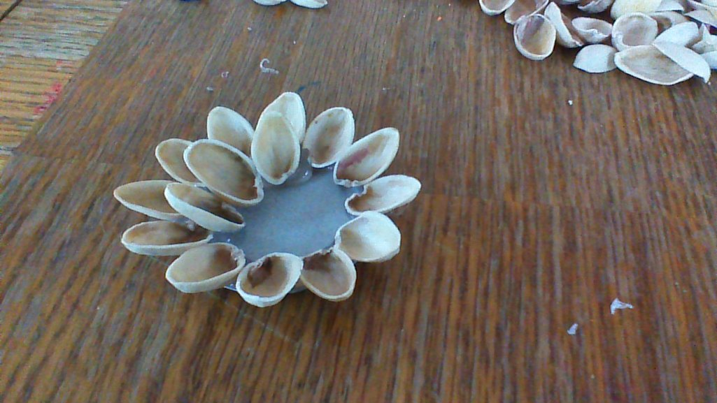 pistachio shell flower 8