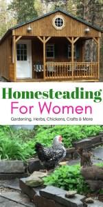 Homesteading For Women