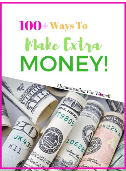 100+ Ways to make extra money