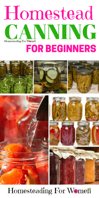 Homestead Canning Tips For beginners (1)