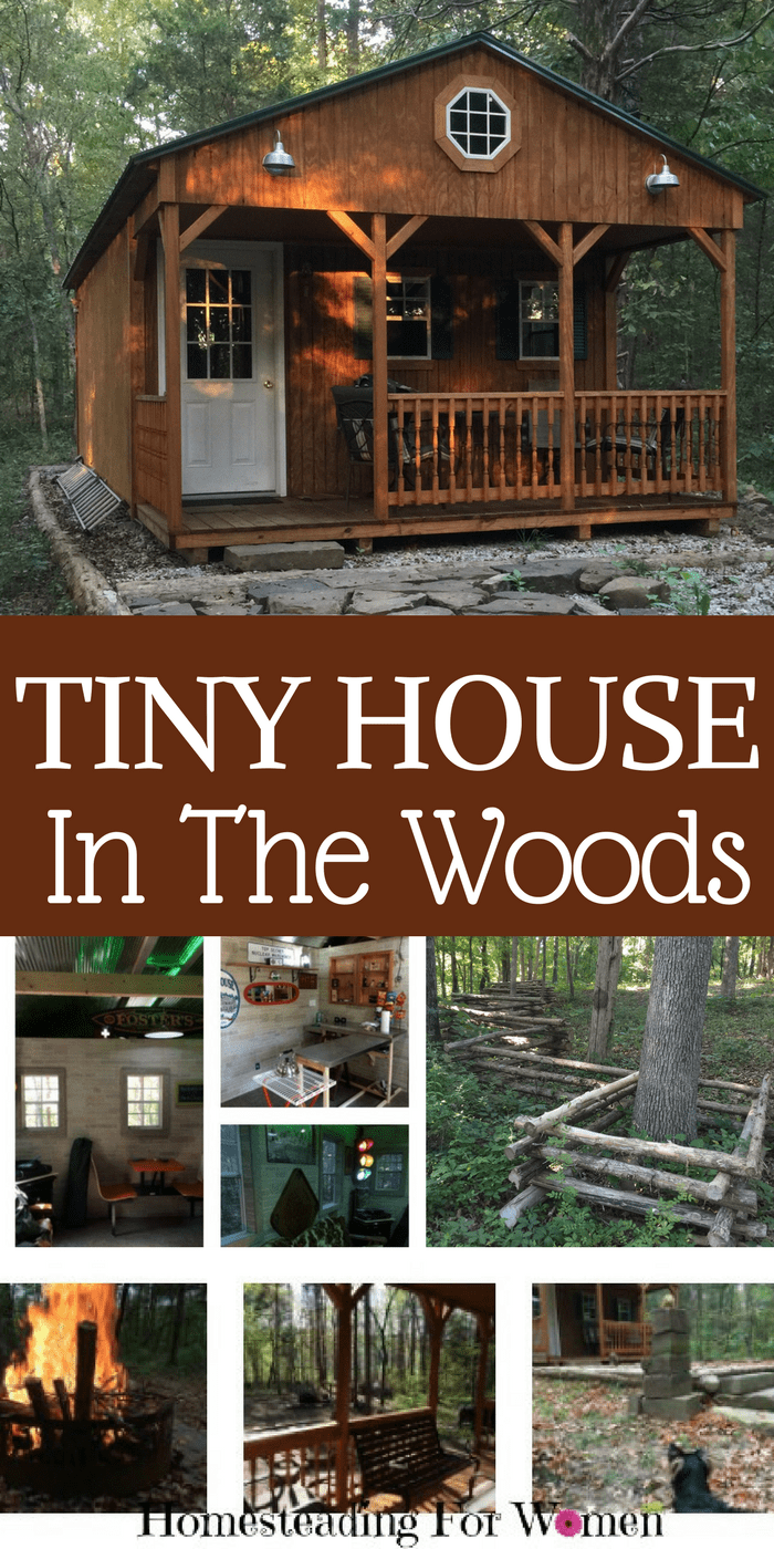Our Rustic Cabin Tiny House In The Woods U2013 Totally Off Grid  Take A Tour