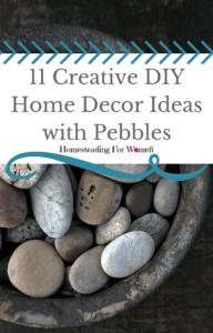 Creative DIY Home Decor Ideas with Pebbles