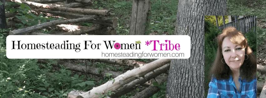 Homesteading for women tribe