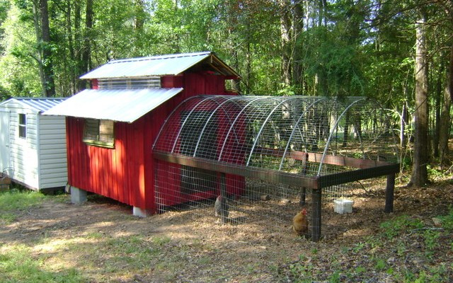 The Chicken Coop is Finished!
