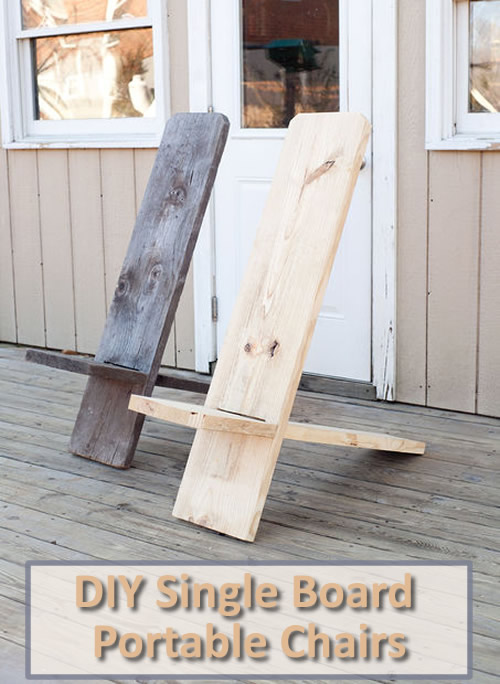how to make a plywood chair bed bath and beyond wing back covers diy one board portable