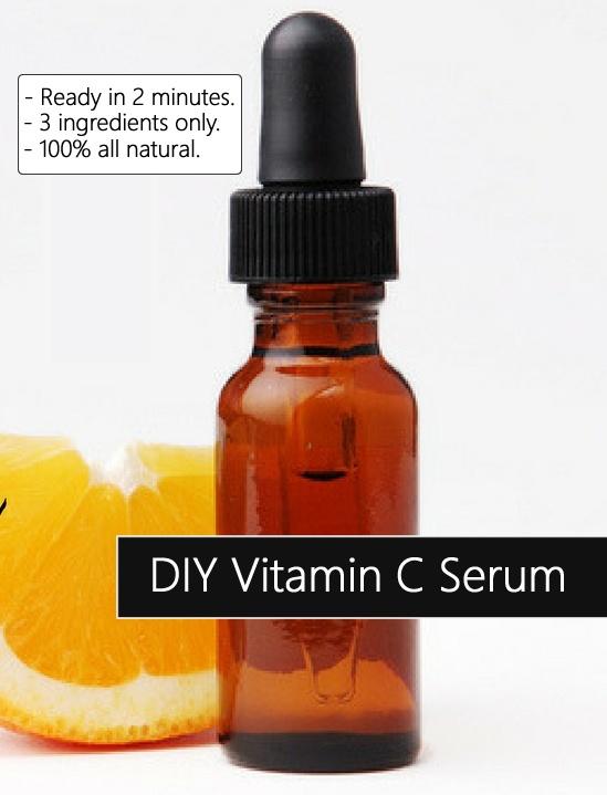 Homemade Diy Vitamin C Serum