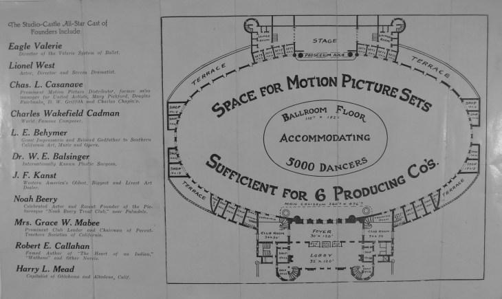 Studio castle schematic
