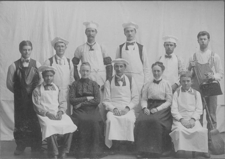LA Sanitarium staff 1