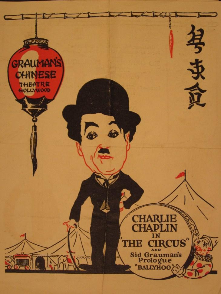 Chaplin Circus Grauman Chinese