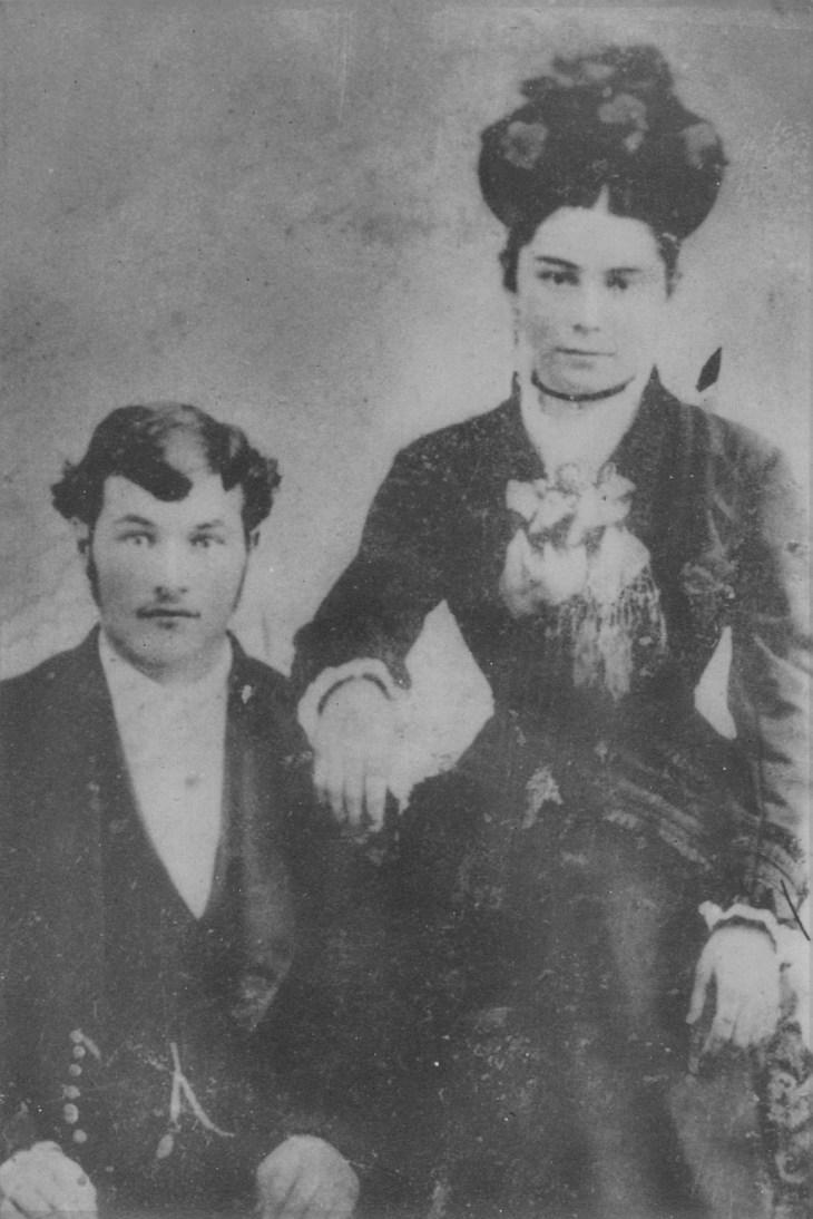 Emelda Lugo Rozas and husband