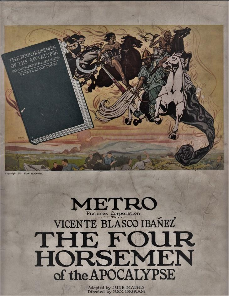 four-horsemen-program-cover
