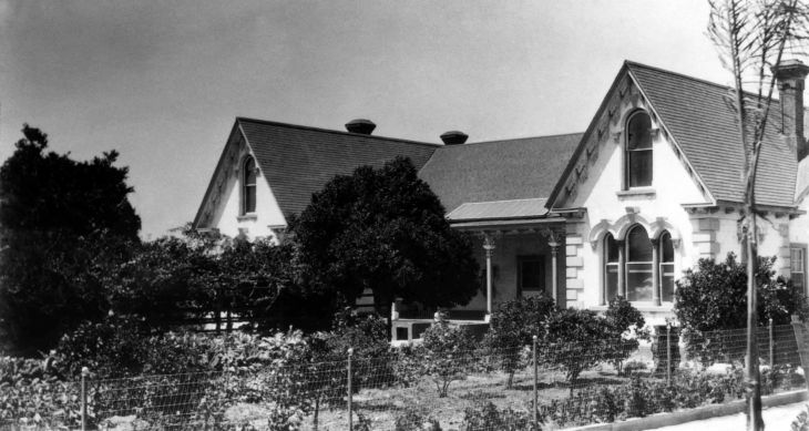Workman House South Elevation ca 1920s 99.5.8.189