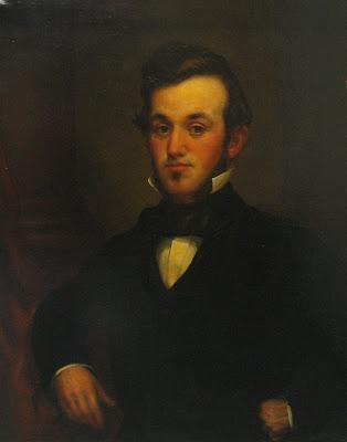 David Hewes portrait 1854