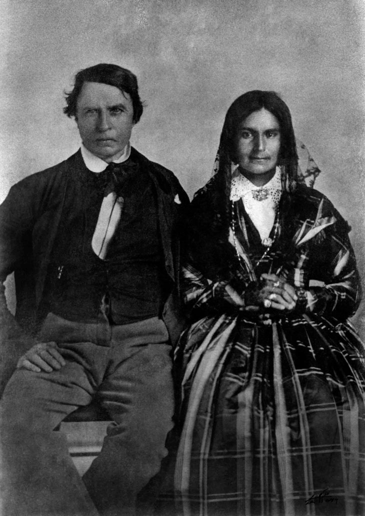 William Workman And AMW Temple ca 1852 96.7.95.9