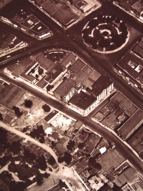 Plaza aerial 1910