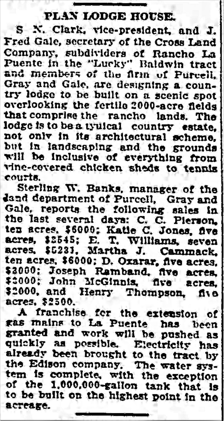 Clark Gale lodge Los_Angeles_Times_Jan_28__1912_