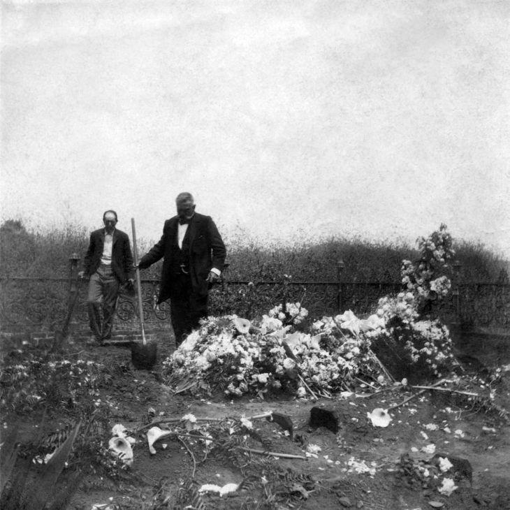 Funeral In Fenced Plot At El Campo Santo 2002.89.48.2