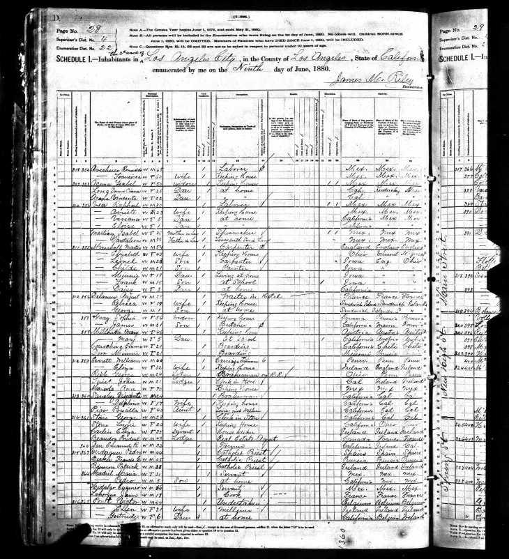 Ponet 1880 census