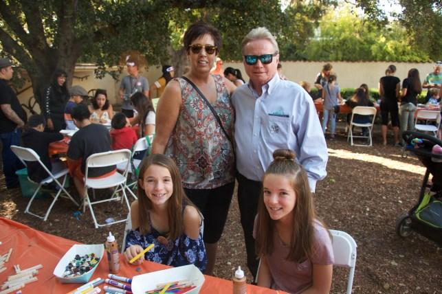 Cheryl, Gary, Christine, & Sarah (neices)