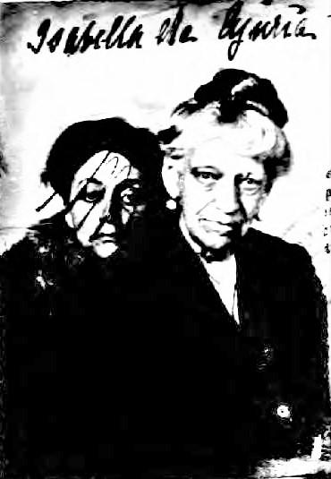 Isabella and Oria passport photo 1919