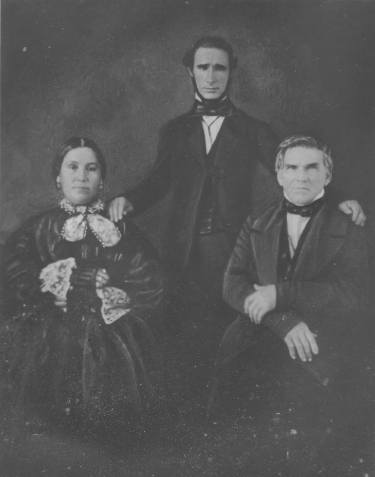 jonathan temple & wife & son in