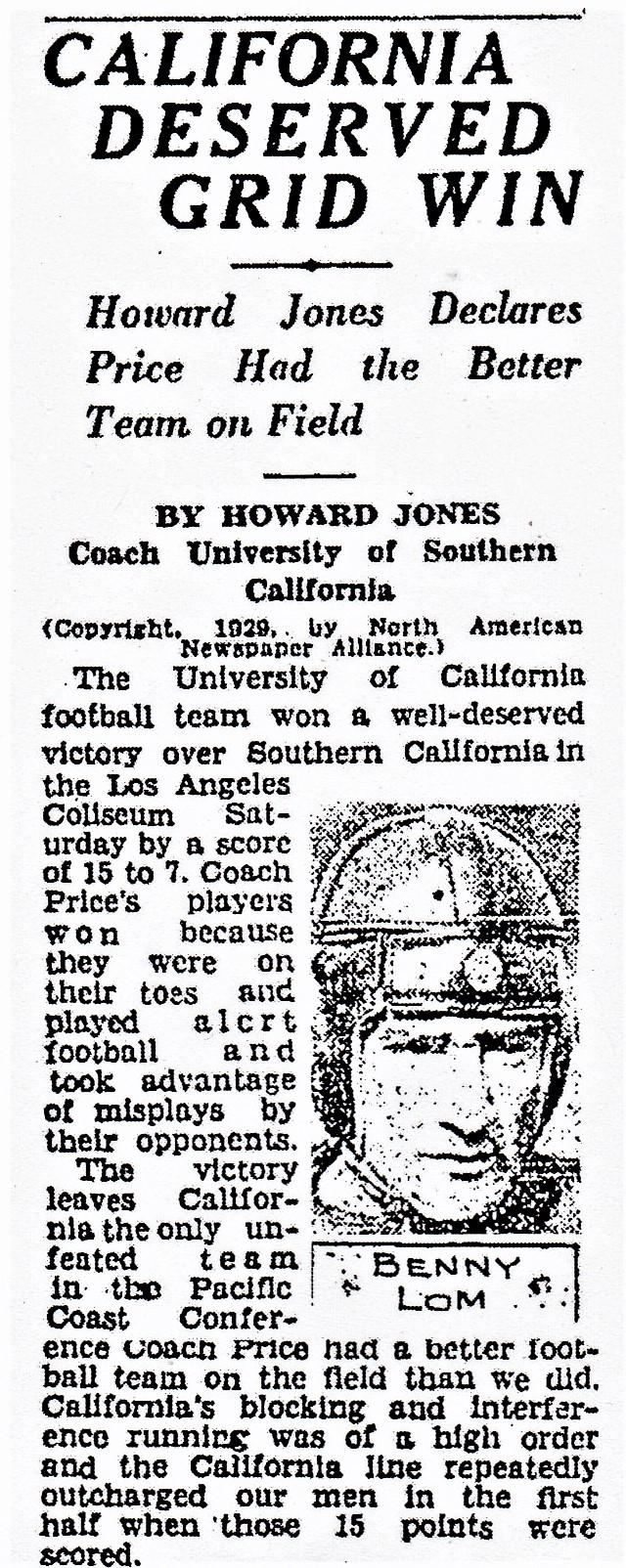 USC Cal games Jones LAX 4Nov29