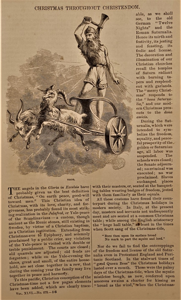 Christmas throughout Christendom Harpers New Monthly 1873