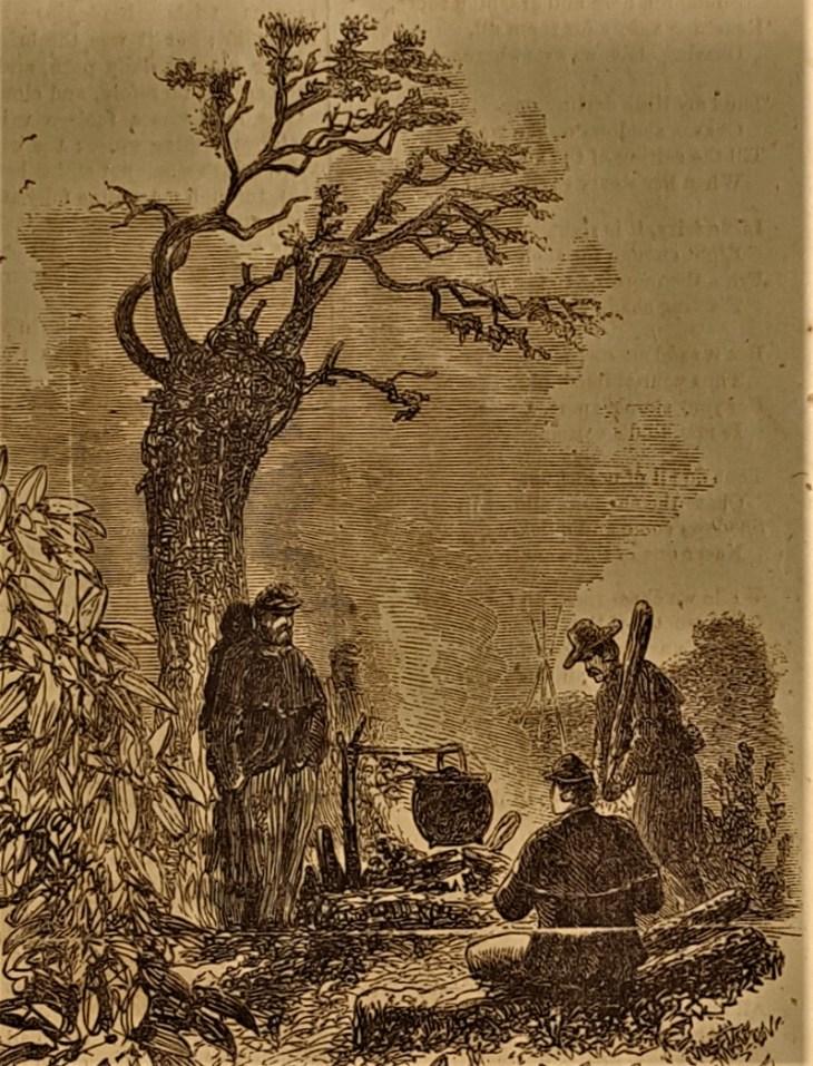Rebel soldiers Christmas 1863