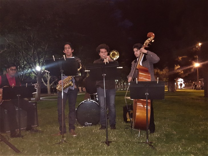 Workman jazz band