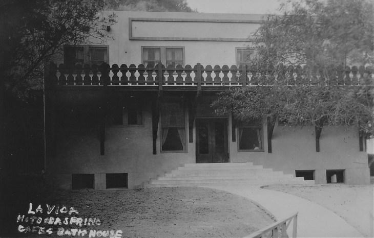 La Vida Mineral Springs bathhouse 1928 (3)