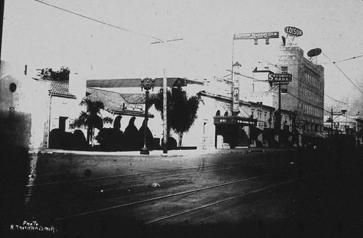 Alhambra Main Street 1928
