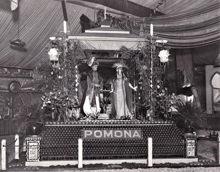 Valencia Orange Show Anaheim Pomona exhibit 1928