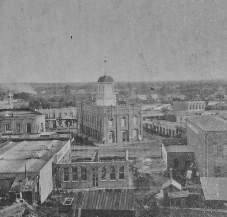 Courthouse area Payne 1870s