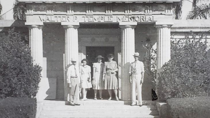 Jackson photo mausoleum 1941