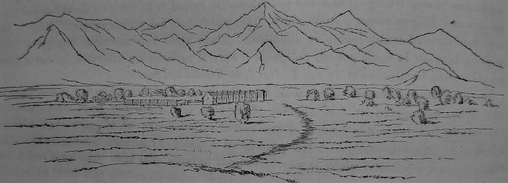 Mission San Gabriel 1853