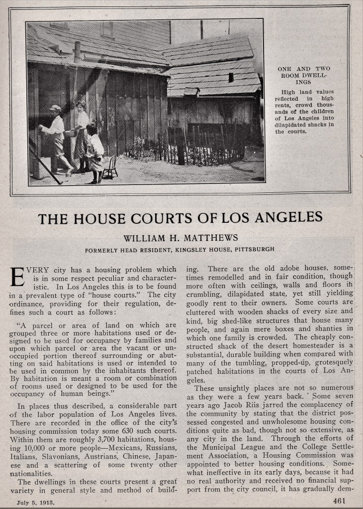 House Courts of Los Angeles p1