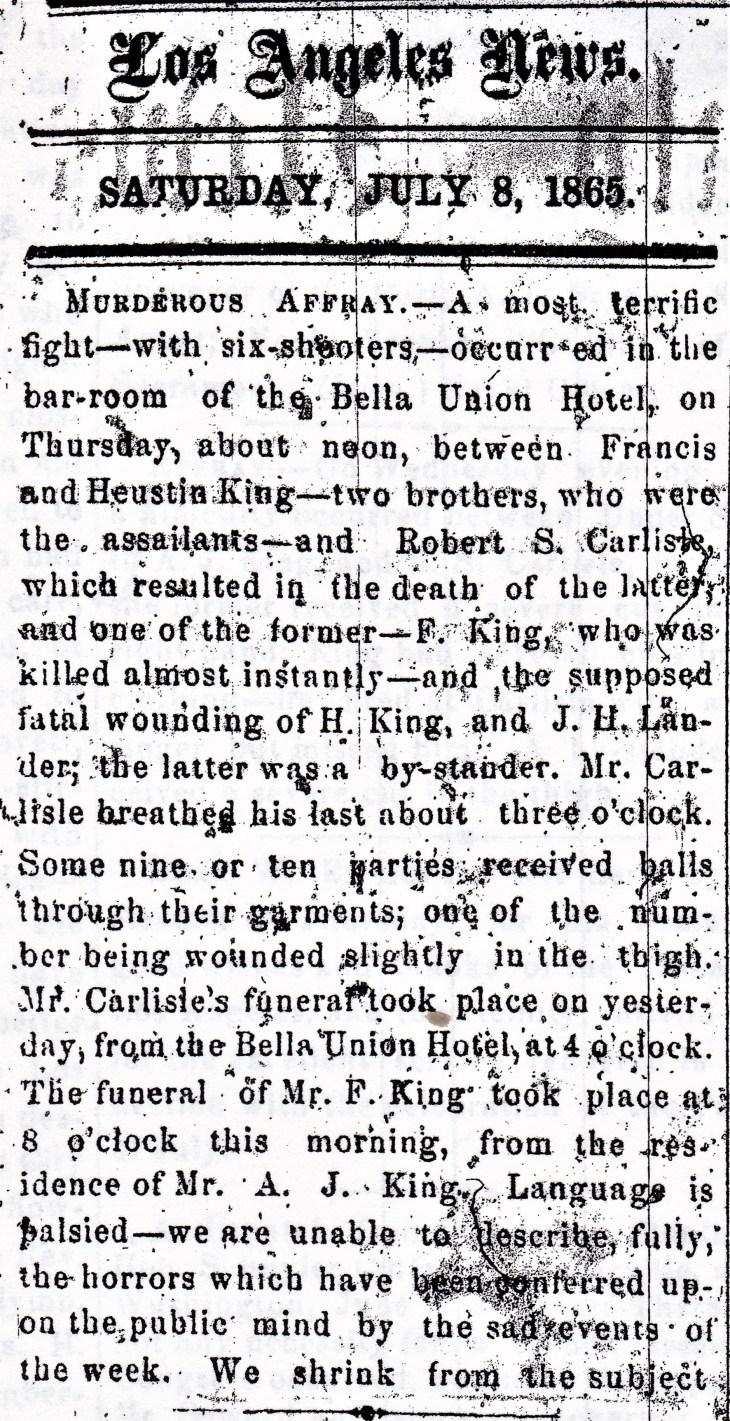 King Carlisle News 8Jul65