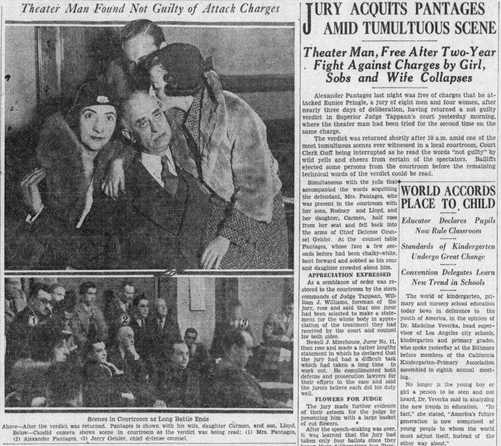 Pantages retrial verdict LA_Times_Nov_28__1931_