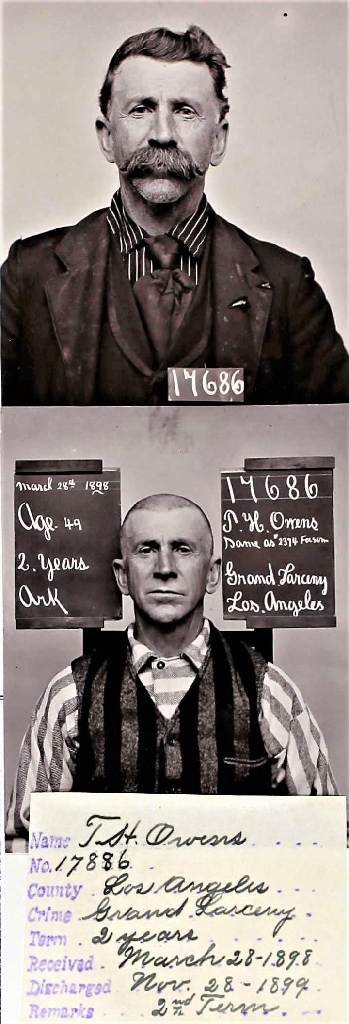 Thomas H. Owens San Quentin photo